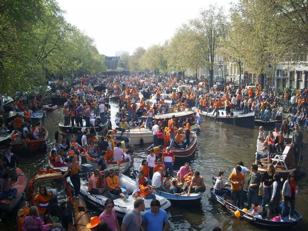 Kingsday in Amsterdam