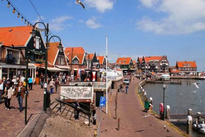 Volendam Bike Tour Scenery