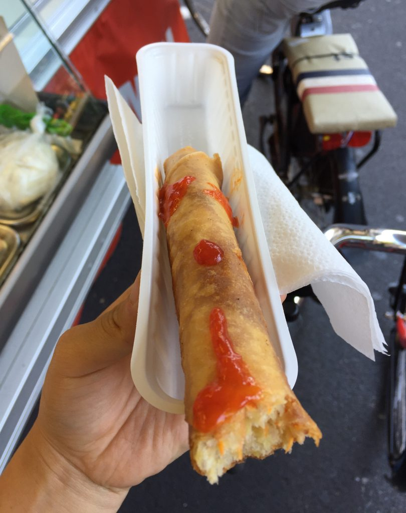 Lumpia at Dappermarkt